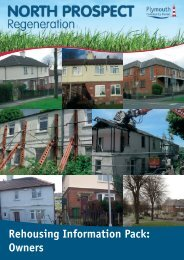 Rehousing Information Pack: Owners - Plymouth Community Homes