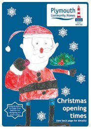 Winter Newsletter 2010 - Plymouth Community Homes