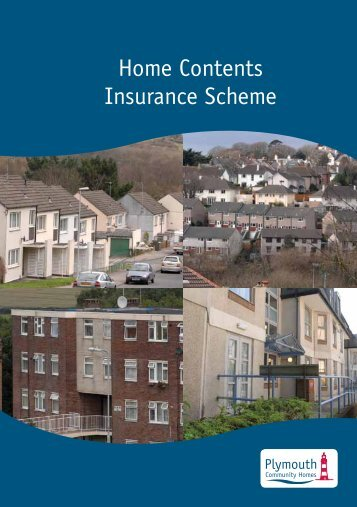 Home Contents Insurance Scheme - Plymouth Community Homes