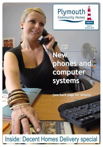 New phones and computer systems - Plymouth Community Homes