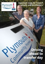Plymouth Community Homes News Issue 1 (2.8mb)