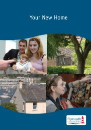 Your New Home Leaflet (594.7kb) - Plymouth Community Homes