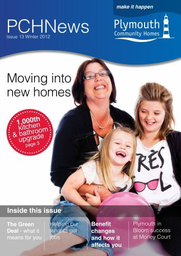 Plymouth Community Homes News Issue 13 (1.3mb)
