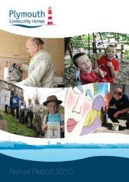 Annual Report (2010) (1.5mb) - Plymouth Community Homes