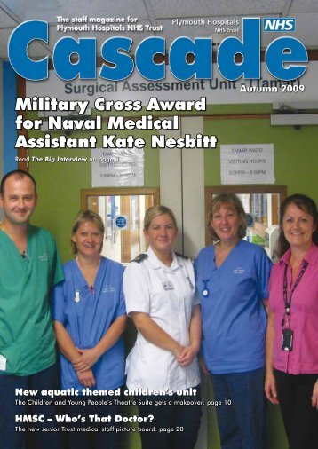 Military Cross Award for Naval Medical Assistant Kate Nesbitt