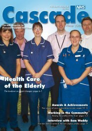 Health Care of the Elderly - Plymouth Hospitals