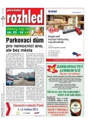 Strany 1–22 - Plzeňský rozhled