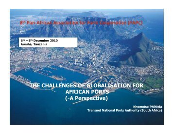 THE CHALLENGES OF GLOBALISATION FOR AFRICAN ... - PMAESA