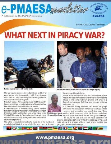 WHAT NEXT IN PIRACY WAR? - PMAESA