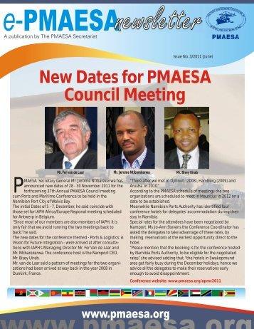 ePMAESA Newsletter June 2011
