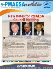 ePMAESA Newsletter June 2011
