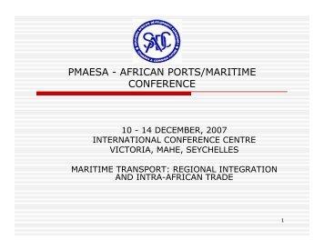Maritime Trade - PMAESA