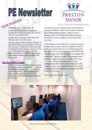 GCSE SUCCESS!!! - Preston Manor High School