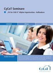 """""""Fit for CAD II"""" Allplan Ingenieurbau - CYCOT GmbH"""