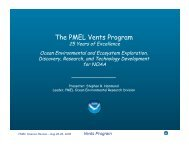 VENTS Overview - Pacific Marine Environmental Laboratory - NOAA