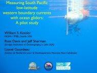Ocean Currents Solomon Sea - NOAA