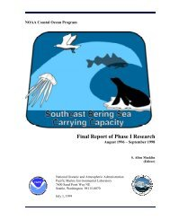 Final Report of Phase I Research - Pacific Marine Environmental ...