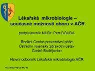 Douda P.: Lékařská mikrobiologie