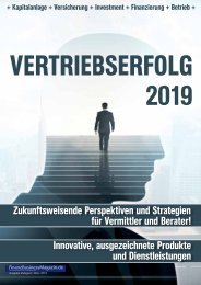 VERTRIEBSERFOLG 2019 - das eMagazin!