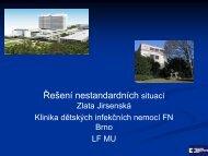 Jirsenská, Z. - Řešení nestandardních situací v očkování