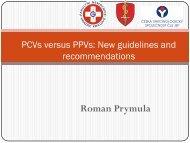 Prymula, R. - PCVs versus PPVs