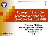 Chlíbek, R. - Postup při kontrole protekce a případném přeočkování ...