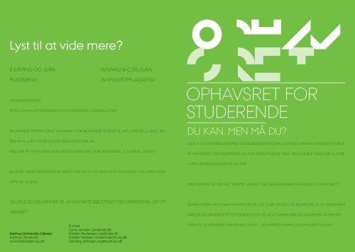 NY folder - Kopi.indd - Aarhus Universitet
