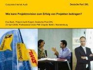 Wie kann Projektrevision zum Erfolg von Projekten beitragen?