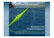 20081120-002 PMI Vortrag kurz - PMI Berlin/Brandenburg Chapter eV