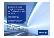 Komplexität in Projekten managen - PMI Munich Chapter eV