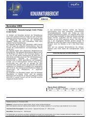 Dexia Monatsbericht November 08