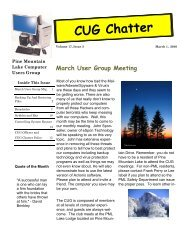 March 2010 Newsletter - PML Computer Users Group