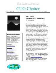 September 2007 Newsletter - PML Computer Users Group