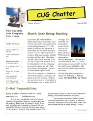 March 2008 Newsletter - PML Computer Users Group