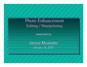 Janice's Presentation