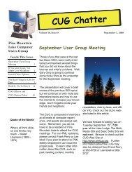 September 2009 Newsletter - PML Computer Users Group