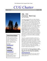 January 2008 Newsletter - PML Computer Users Group