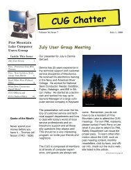 July 2009 Newsletter - PML Computer Users Group