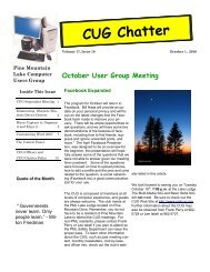 October 2010 Newsletter - PML Computer Users Group