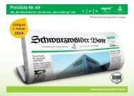 Schwarzwälder Bote mit Partnerverlagen, Nr. 69 ... - Die-Zeitungen.de
