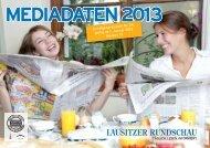 MEDIADATEN 2013 - Lausitzer Rundschau