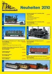Neuheiten 2010 - Pmt