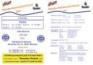 Altersklassen U21 m/w PMTR/KHTC Mülheim Mintarder Str. 21 ...
