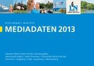Preisliste 2013 - Luebecker-Nachrichten