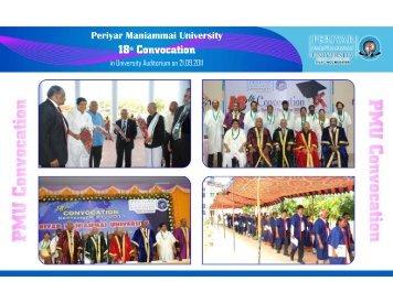 18th Convocation - Pmu.edu
