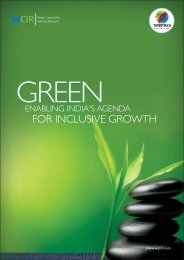 Green for Inclusive Growth - Wipro27oct09