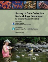 Survey of Data Collection Methodology (Metadata) - Pacific ...