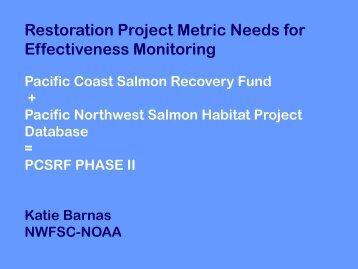 Download this document - Pacific Northwest Aquatic Monitoring ...