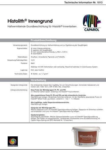 Histolith® Innengrund - Caparol