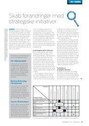 Skab forandringer med strategiske initiativer - Per Nikolaj Bukh ...